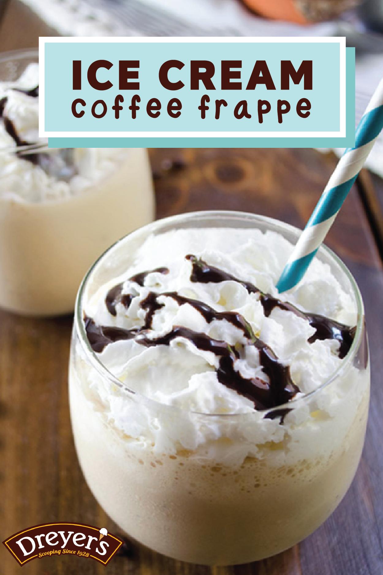 Coffee Ice Cream Frappe Recipe Coffee ice cream