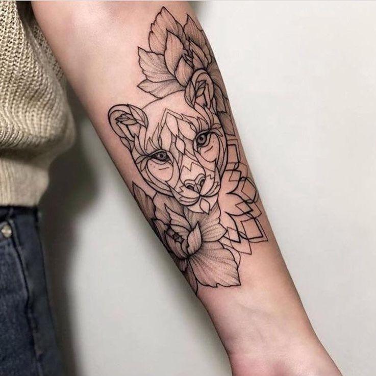expression corporelle ∇ tattoo felin tiger arms