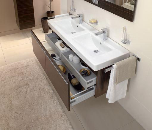 villeroy boch bathroom furniture subway basin with central line