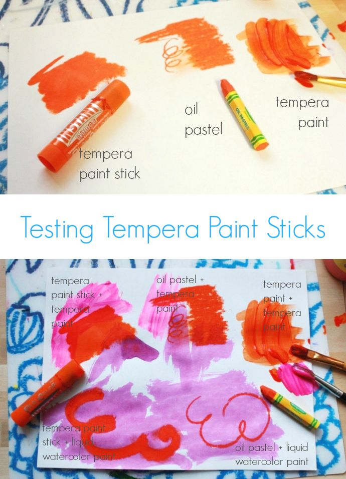 New Tempera Paint Sticks For Kids Kids Painting Projects