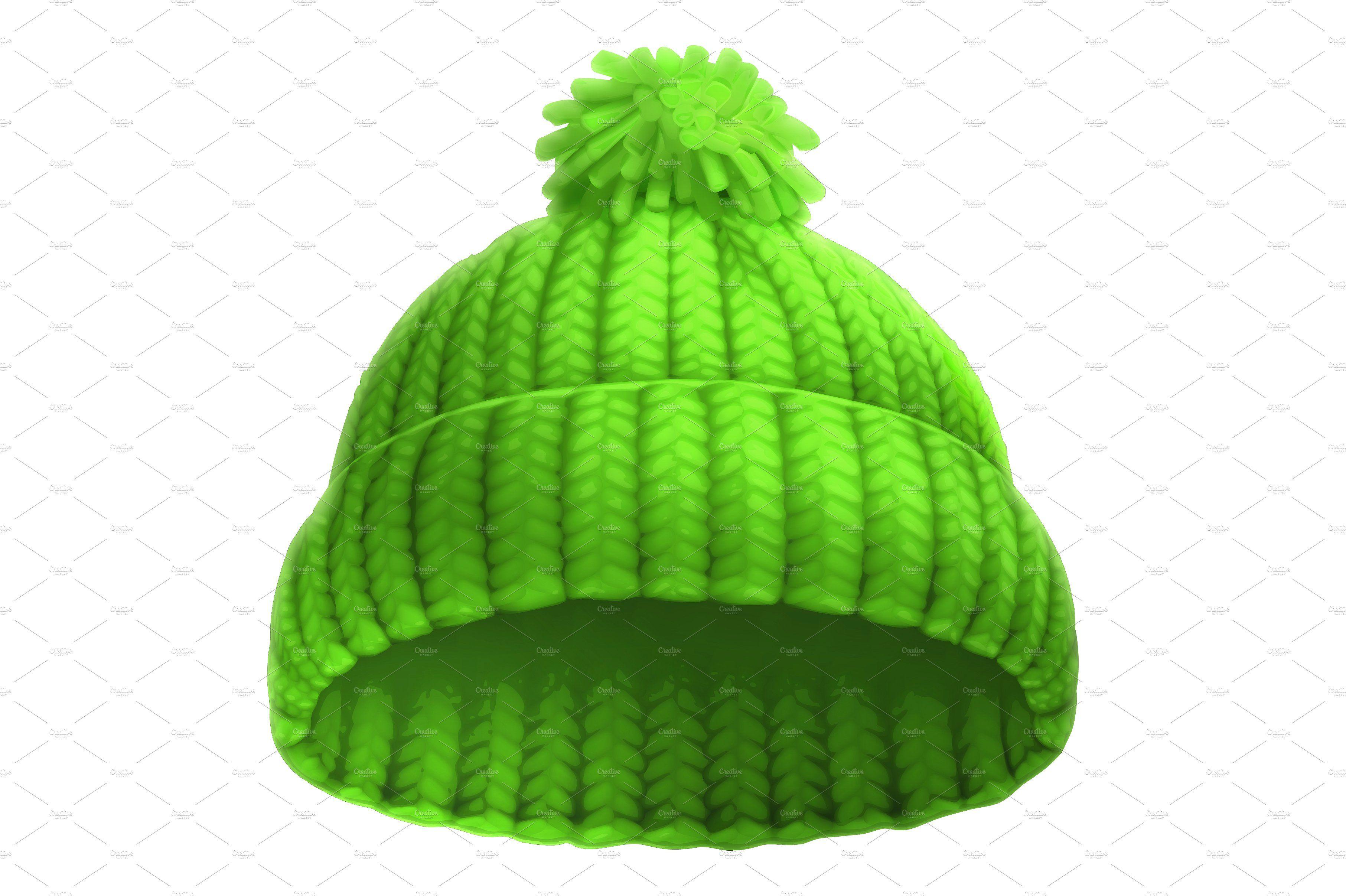 Merry Christmas Santa Claus Vector Scrapbook Images Winter Knit Hats Winter Hats