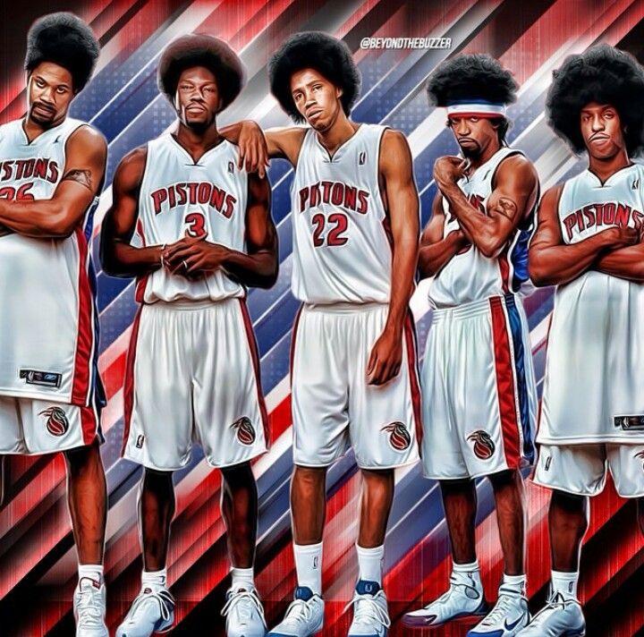 2004 Detroit Pistons Detroit Pistons Detroit Pistons Bad Boys Detroit Sports