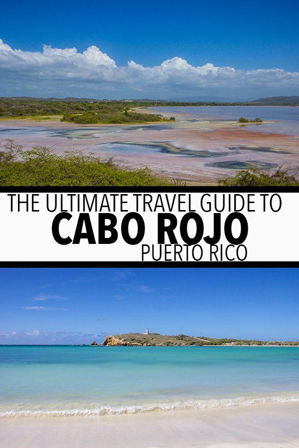 Cabo Rojo Puerto Rico Travel Guide  #travel #caribbean #caborojo #puertorico #usa #usatravel #northamerica #lassalinas #salinas #saltflat #pinklake #pink #pinklakepuertorico #beach #ocean #sea #laplayuela #losmorillos