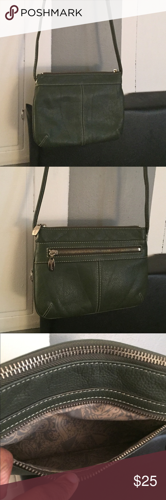 Tignanello Crossbody Bag Green Bags