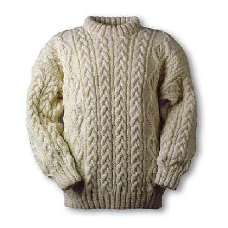 Flanagan Aran sweater, need to find a pattern to make this for ...