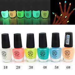lichtende nachtwolken nagellak glow-in-dark (diverse kleuren, 6 ml)