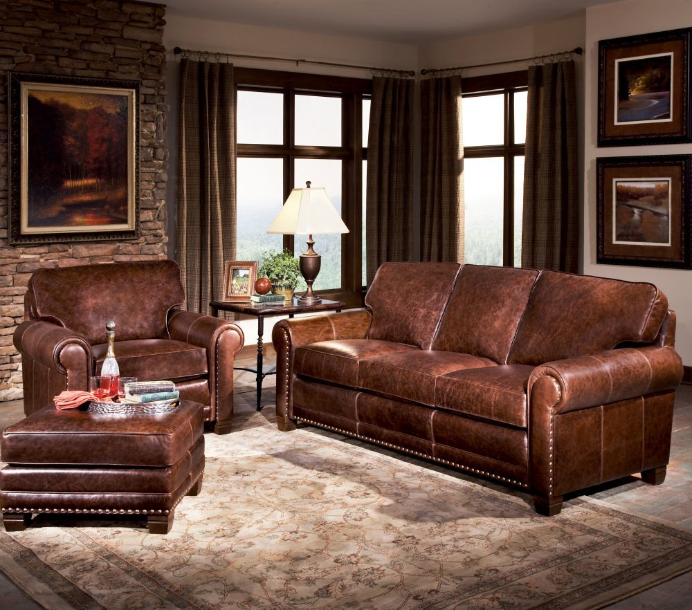 393 Leather Sofa Group In 2020
