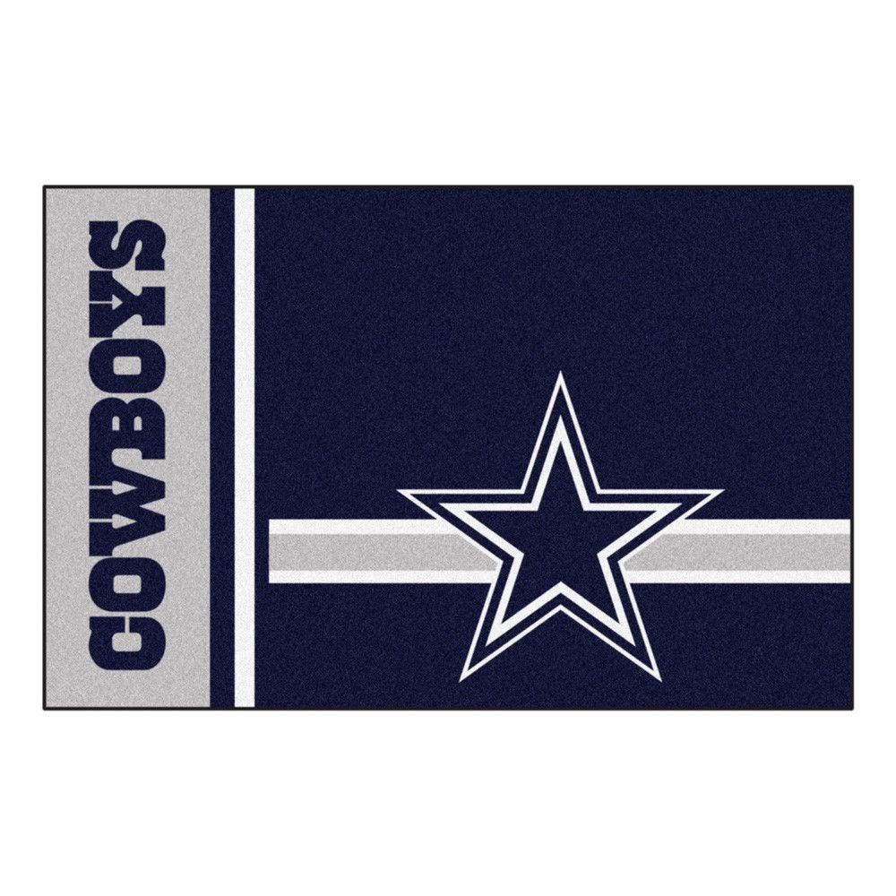 Dallas Cowboys Uniform Inspired Area Rug