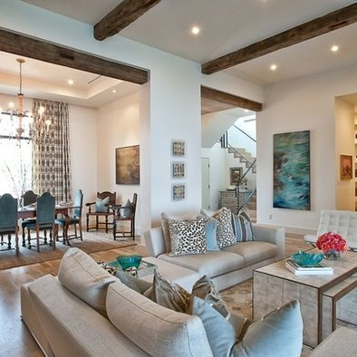 Living Room Brown Aqua Design Pictures Remodel Decor And Ideas