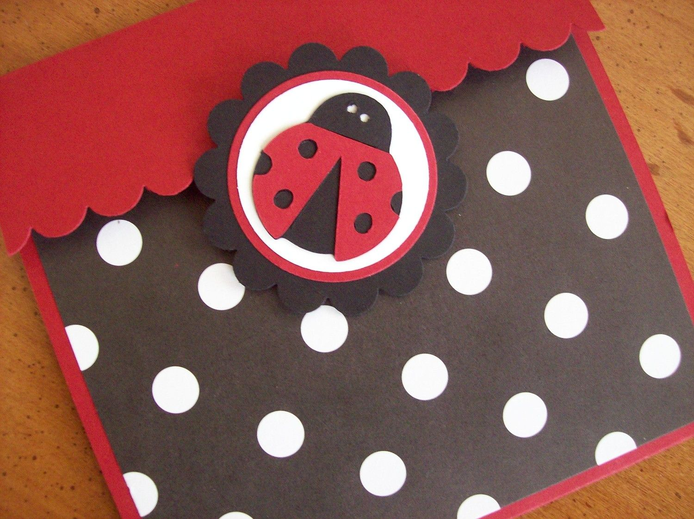 Ladybug Invitations, Ladybug Birthday Invitations, Ladybug Baby ...