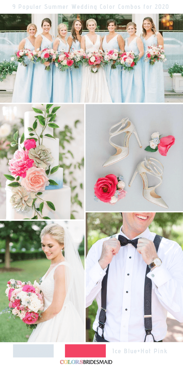 9 Popular Summer Wedding Color Combos for 2020 Summer
