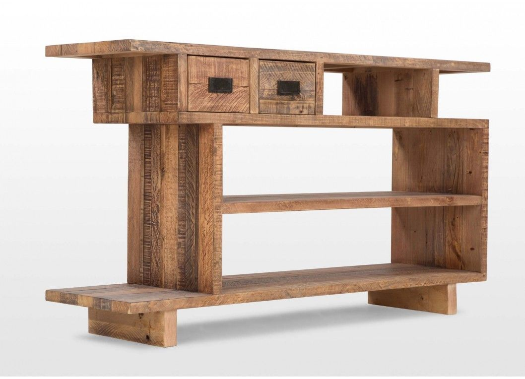 Two drawer pine console table polygon house pinterest two drawer pine console table polygon geotapseo Gallery