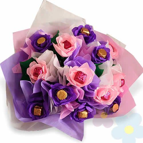 Choco Bouquet de Rosas (DOS DIAS ANTICIPACION)
