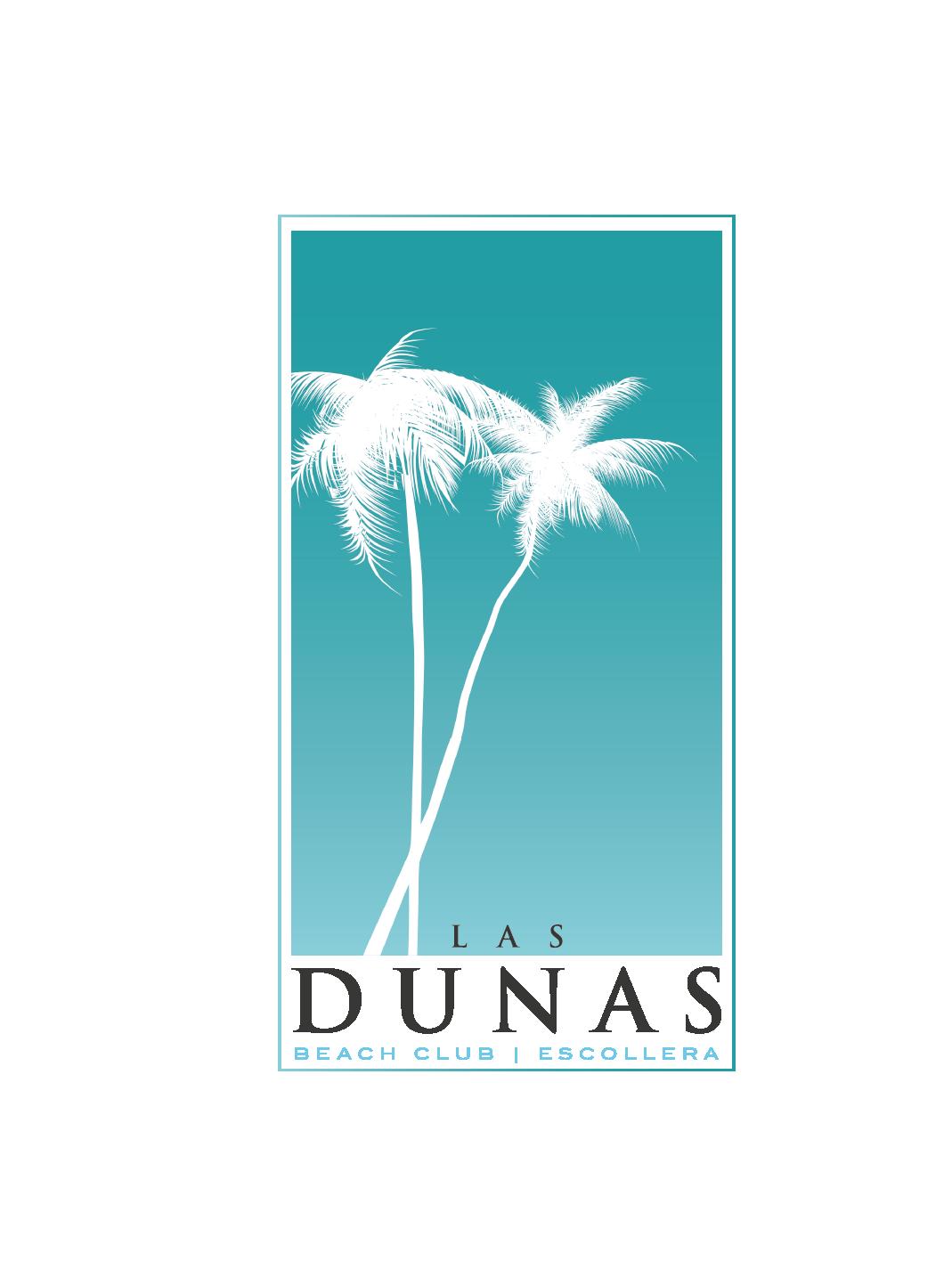 logo logotype Logotipo realizado para Las Dunas Beach