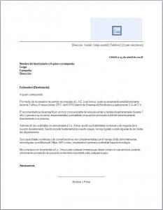 Trabajo Personal Trabajo Formato De Carta De Recomendacion Carta De Recomendacion Laboral Cartas De Recomendacion Formato