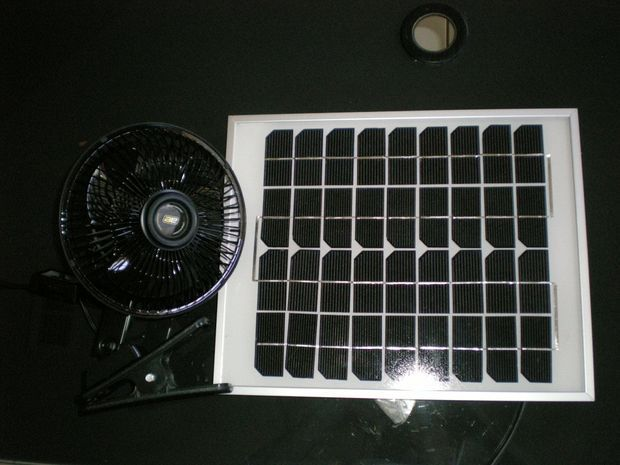 Solar Attic Fan Instructables Solar Attic Fan Solar