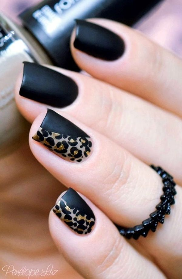 45 Cute New Year Eve Nail Designs and ideas | Tape nail designs ...