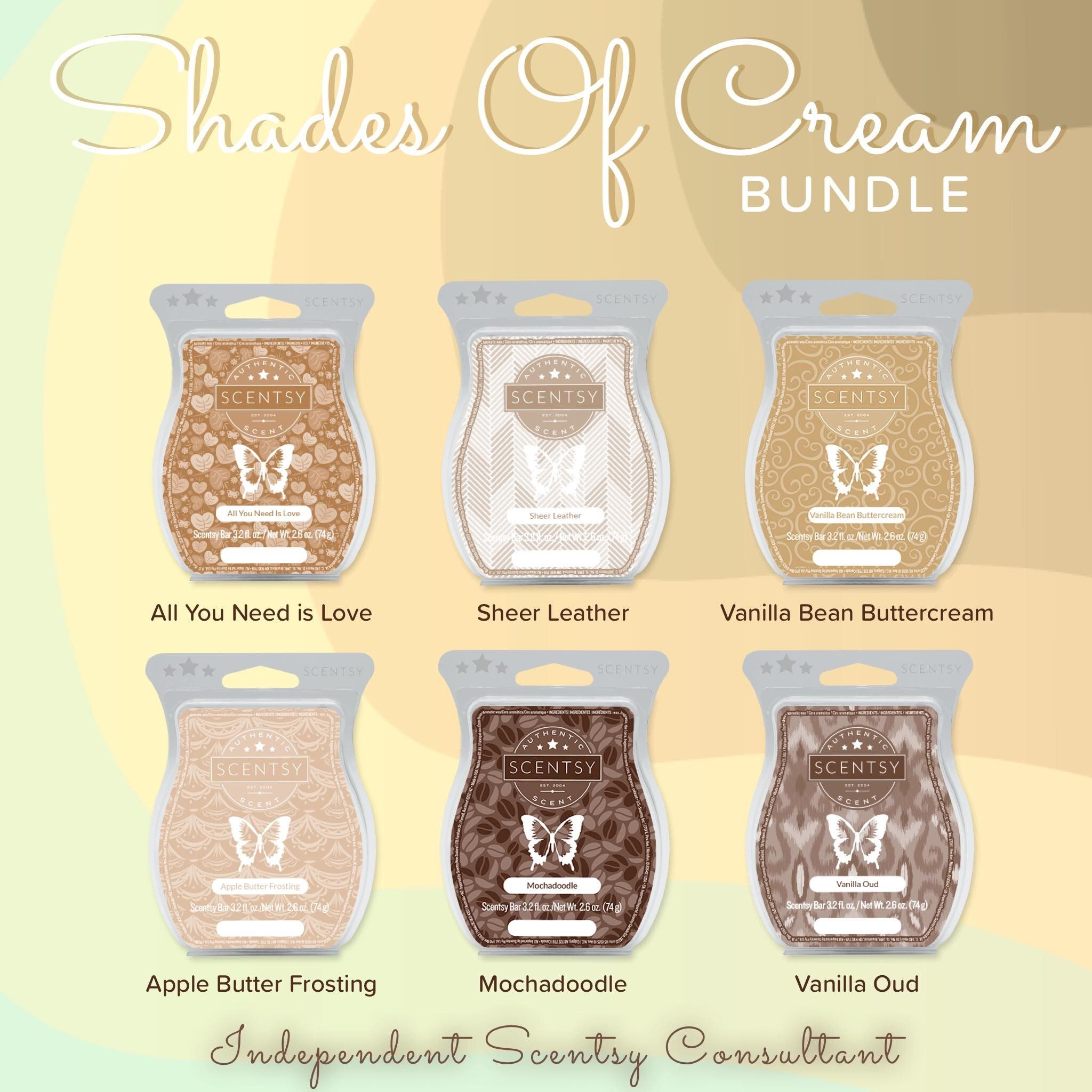 Shades Of Cream Bundle 6 Bars In Various Brown And 5 Get Your 6th For Free 30
