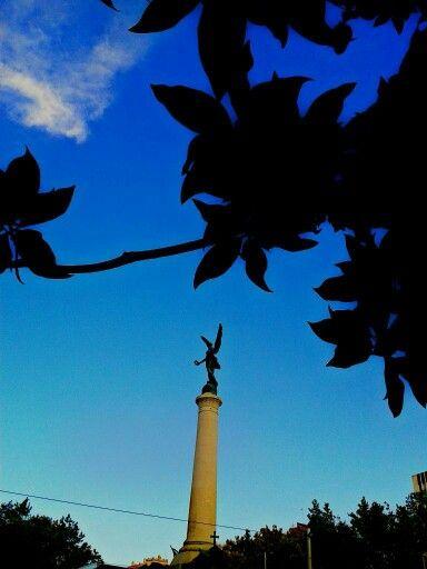 Angel de la plaza de las Batallas