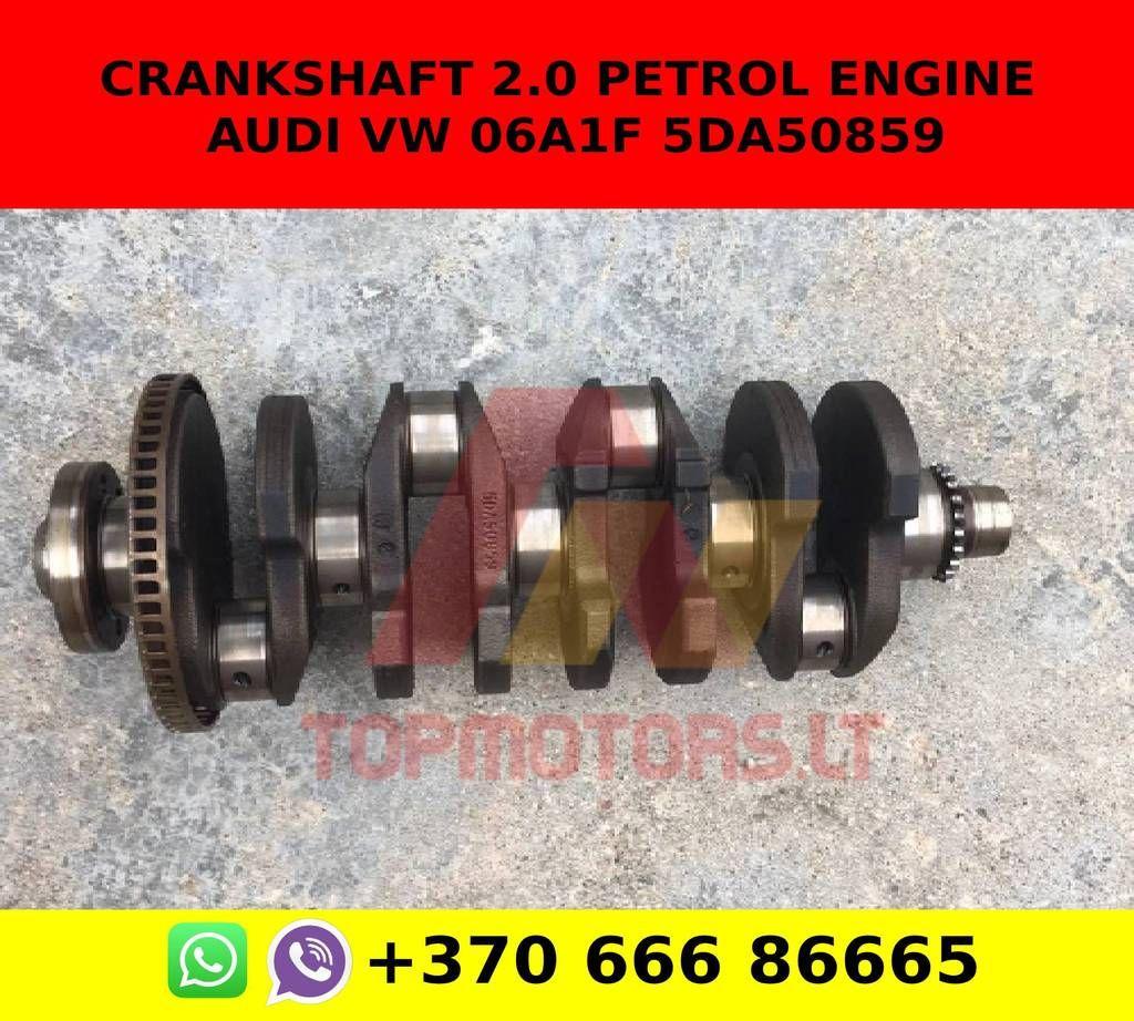 Crankshaft 2 0 Petrol Engine Audi Vw 06a1f 5da50859 Petrol Engineering Audi