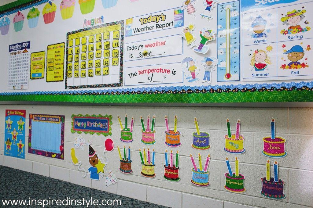Creative Teaching Press Classroom Decorations ~ Stick kids calendar decor by creative teaching press