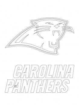 Carolina Panthers Stencil For Halloween Pumpkin Carolina Panthers Logo Carolina Panthers Football Coloring Pages