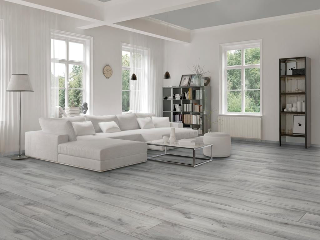 Light Gray Hardwood Floors Grey Flooring Living Room House Flooring Living Room Loft