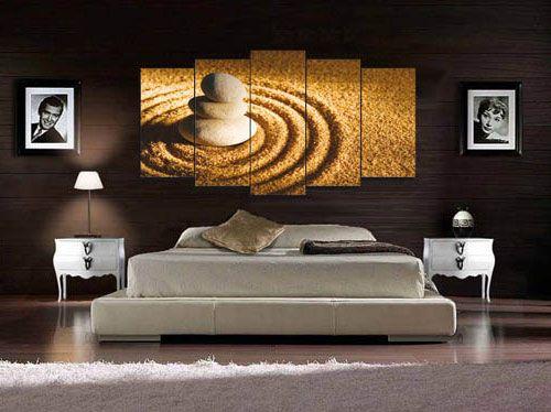 Decorar la habitaci n con cuadros para salones peque os - Cuadros para salones minimalistas ...