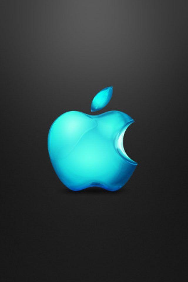 Teal Apple Apple Logo Wallpaper Iphone Apple Wallpaper Iphone Apple Wallpaper New iphone wallpapers 2012