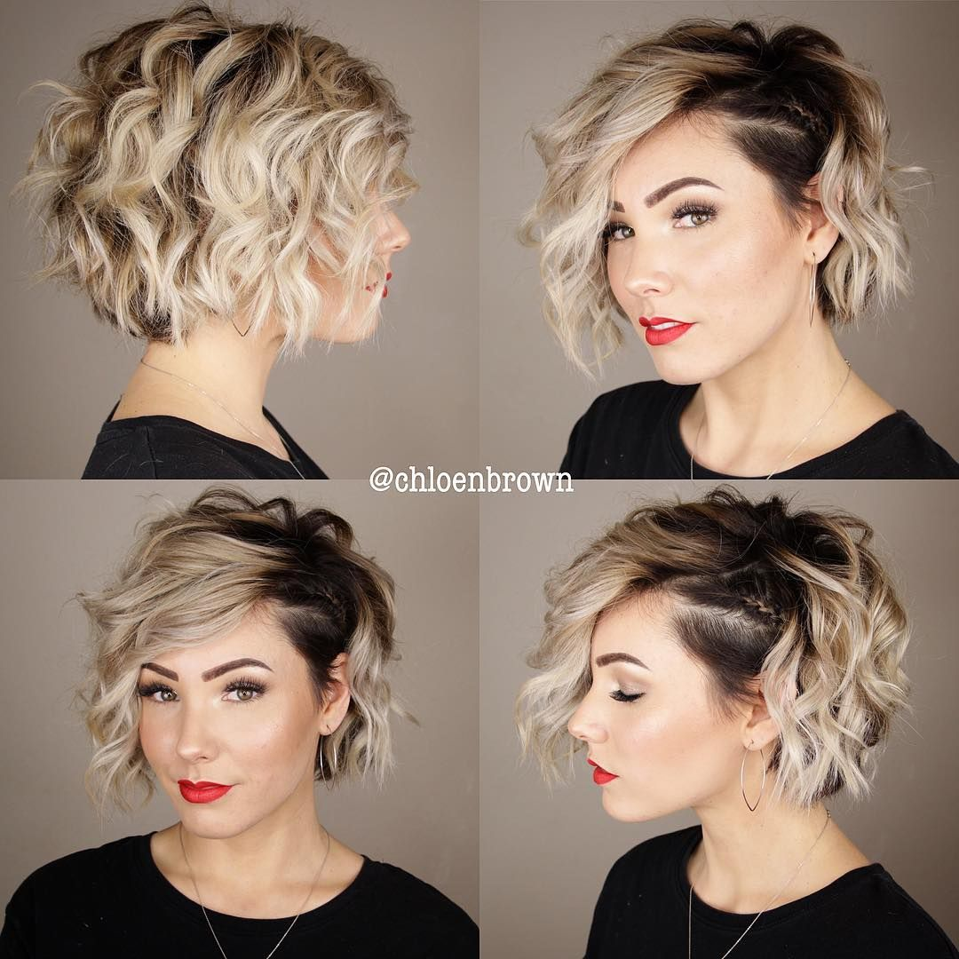 Chloe Brown Short Hair On Instagram A Little Sassy Style For Your Upcoming Holiday Parties Littlebrai Thick Hair Styles Short Hair Styles Hair Styles