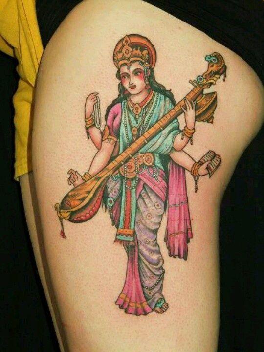 saraswati tattoo - Buscar con Google   Ink   Pinterest ...