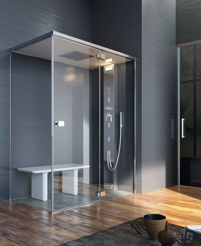 Jacuzzi shower Guest bathroom - NOOR STEAM - IDF | Bathing ...