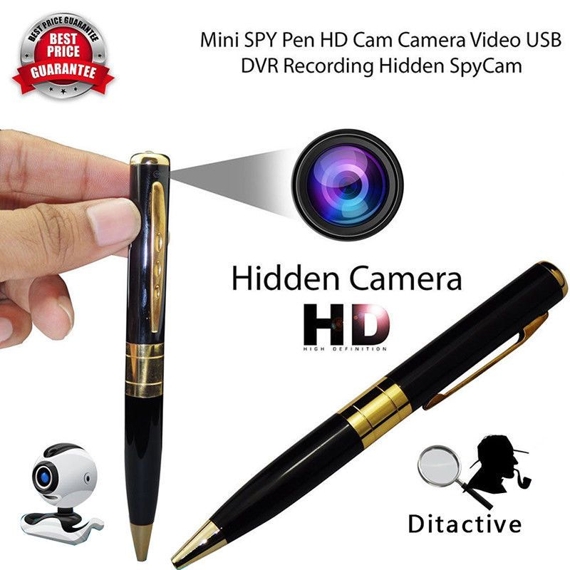 HD 1080P Button Hidden Camera Mini Video Recorder DV Pinhole DVR Spy cam