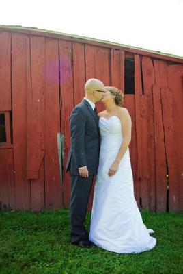 pics from our wedding at the Conrad Botzum Farmstead