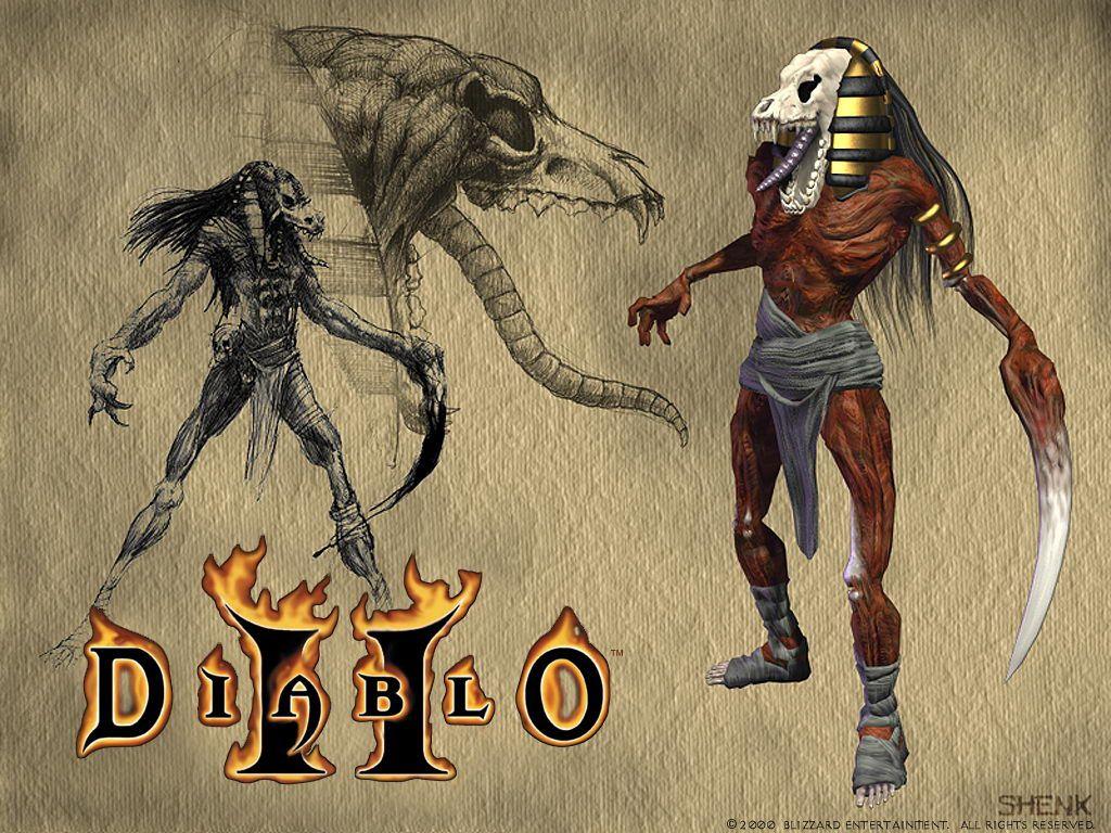 Diablo Ii Lord Of Destruction Wallpapers Diablo Ii Sword And