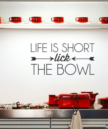 Wall Decals Phrases Love Kitchen Wall Stickers Wall Decor ws1050