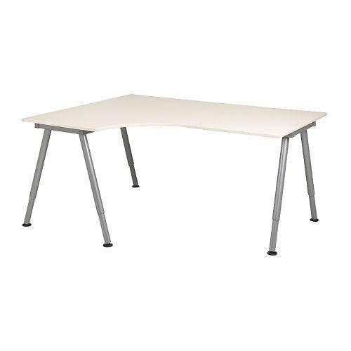 GALANT Ecktisch links - weiß, A-Bein - IKEA €140 | Erste eigene ...