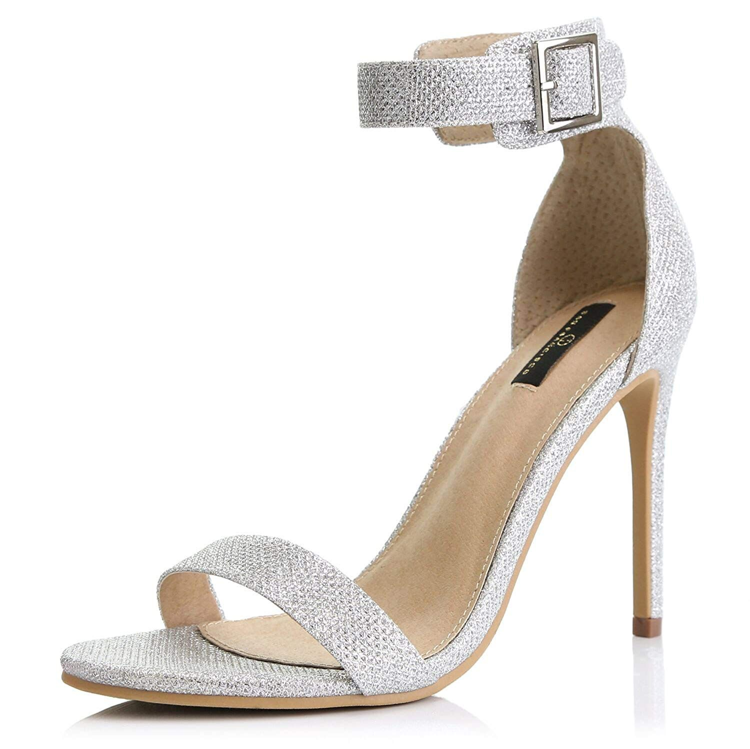 82726cd7c7f DailyShoes Women s Stiletto Heels Open Toe Ankle Buckle Strap Platform High  Heel Evening Party Dress Casual Sandal Shoes     We appreciate you for  seeing ...