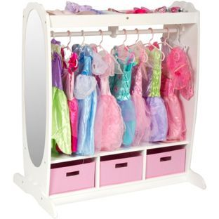 194f319a4b90 Buy Guidecraft Dressing Up Centre - White at Argos.co.uk - Your Online Shop  for Children's toy boxes and storage.