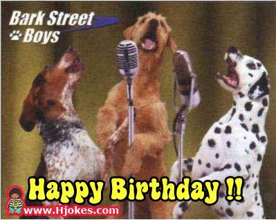 funny happy birthday pictures | happy birthday happy birthday batdog happy birthday hunk happy ...