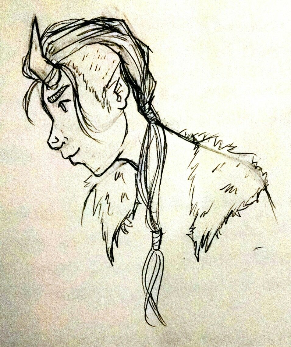 Side profile doodle bop