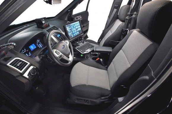 2012 Ford Police Interceptor Utility Interior