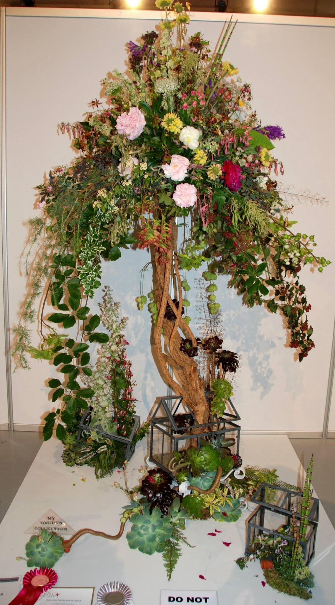 "Wafa Ireland ""A floral Odyssey"" Flower arrangements"