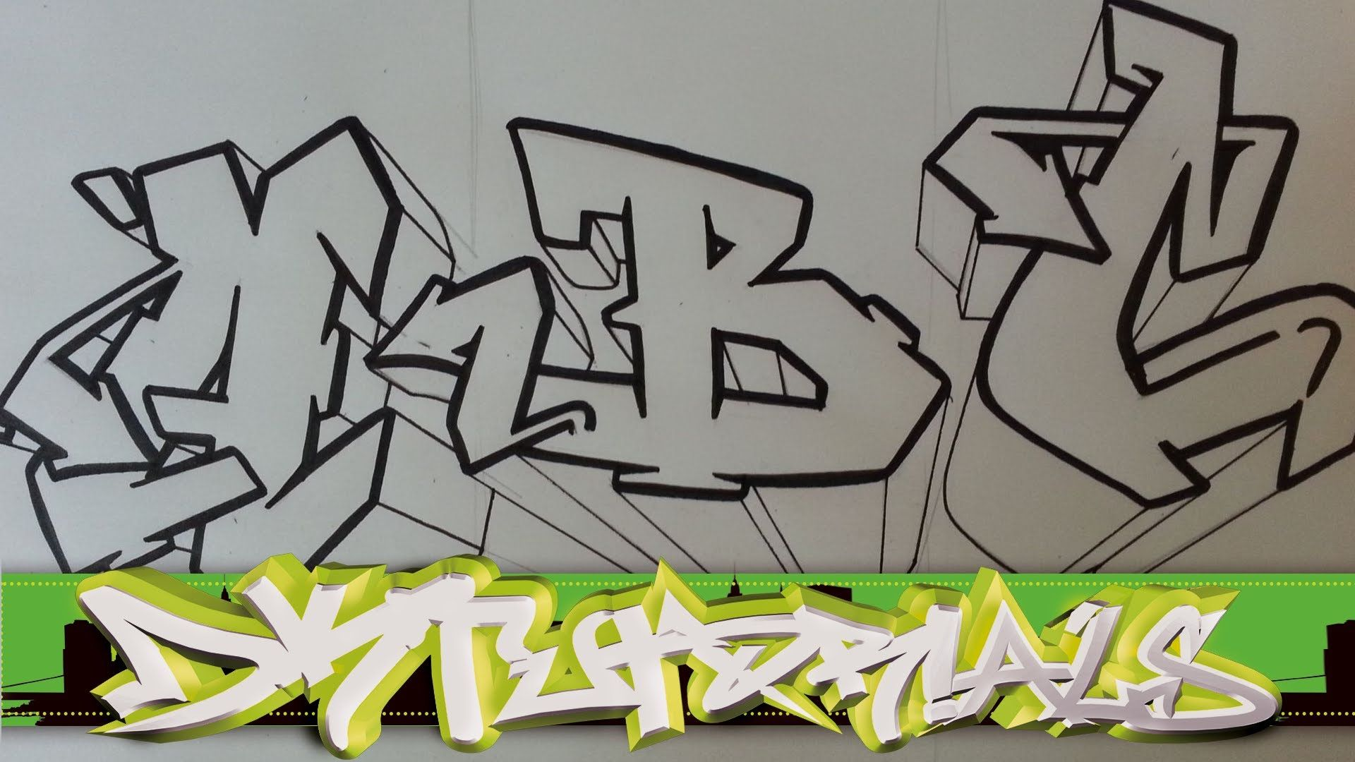 How to draw graffiti wildstyle graffiti letters abc step by step