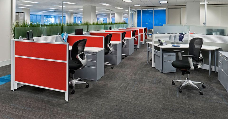 Kuehne + Nagel Global office furniture, Office furniture