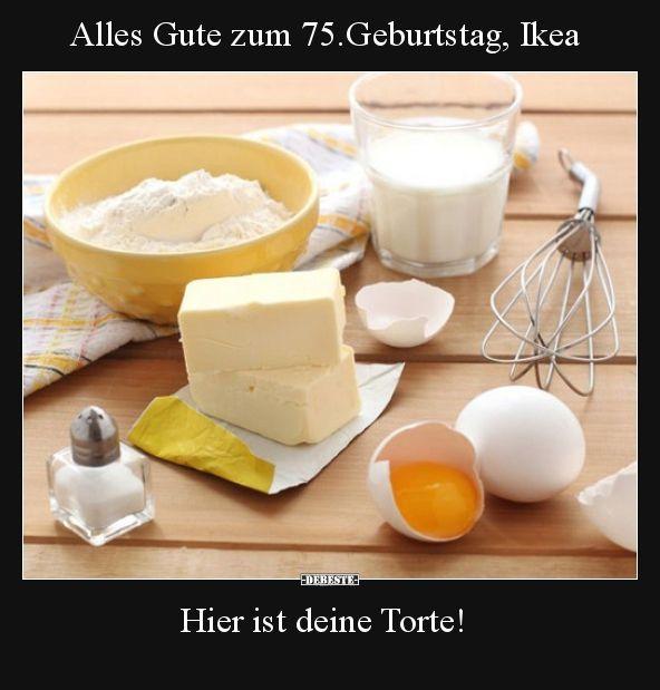 Alles Gute Zum 75 Geburtstag Ikea Lustige Bilder Spruche Witze