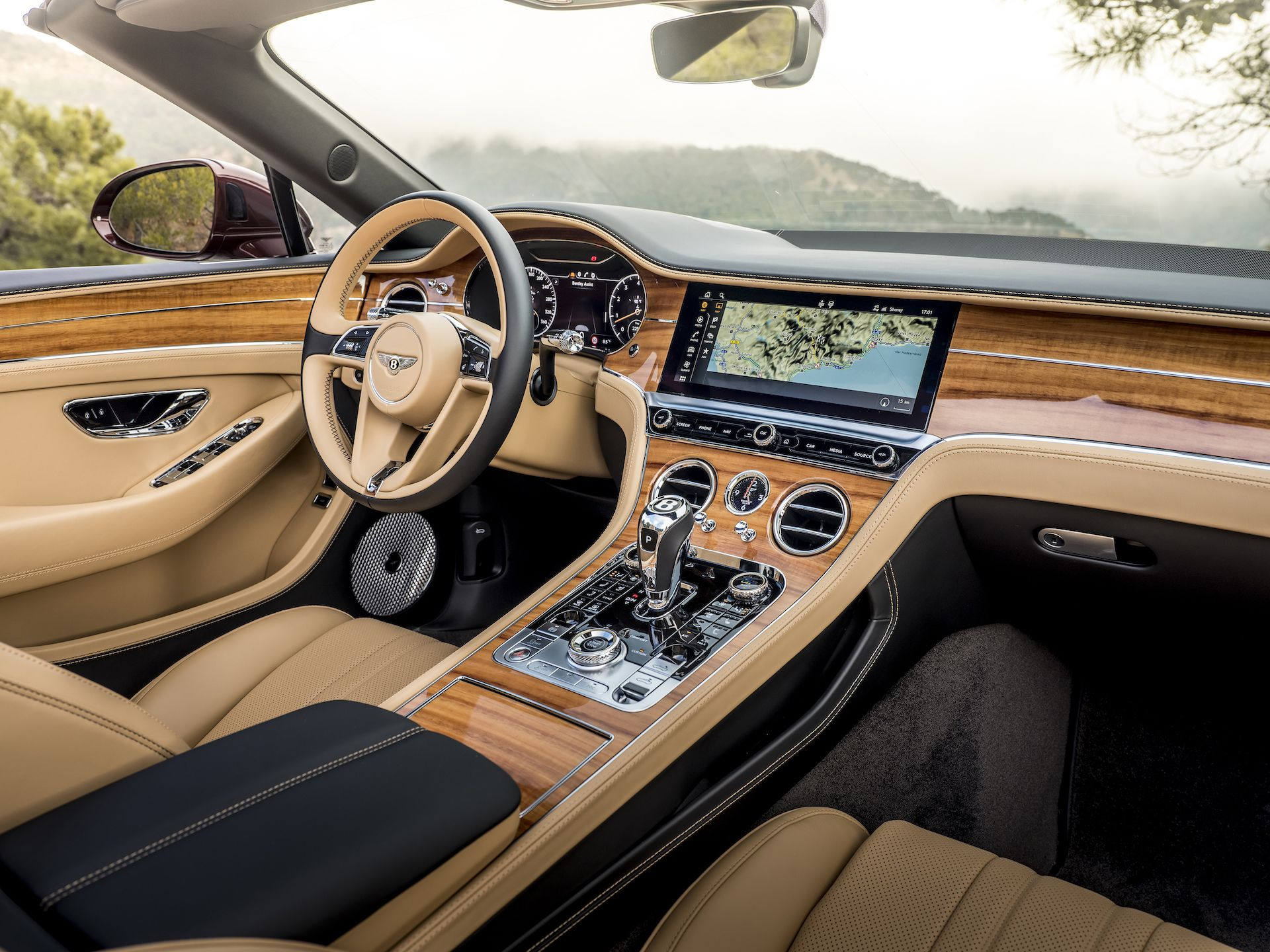 2019 Bentley Continental Gt Convertible Color Verdant Interior