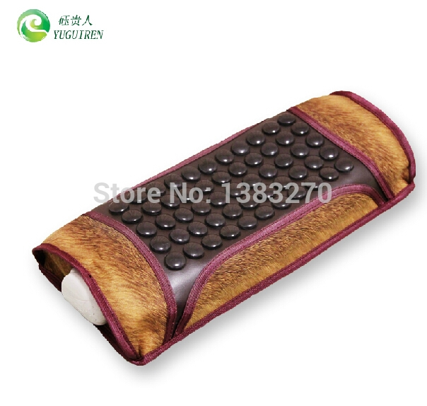 111.00$  Watch now - http://ali400.worldwells.pw/go.php?t=32317954349 - 2015 neck health care Jade pillow health care pillow magnetic therapy jade stone pillow sleeping neck pillow