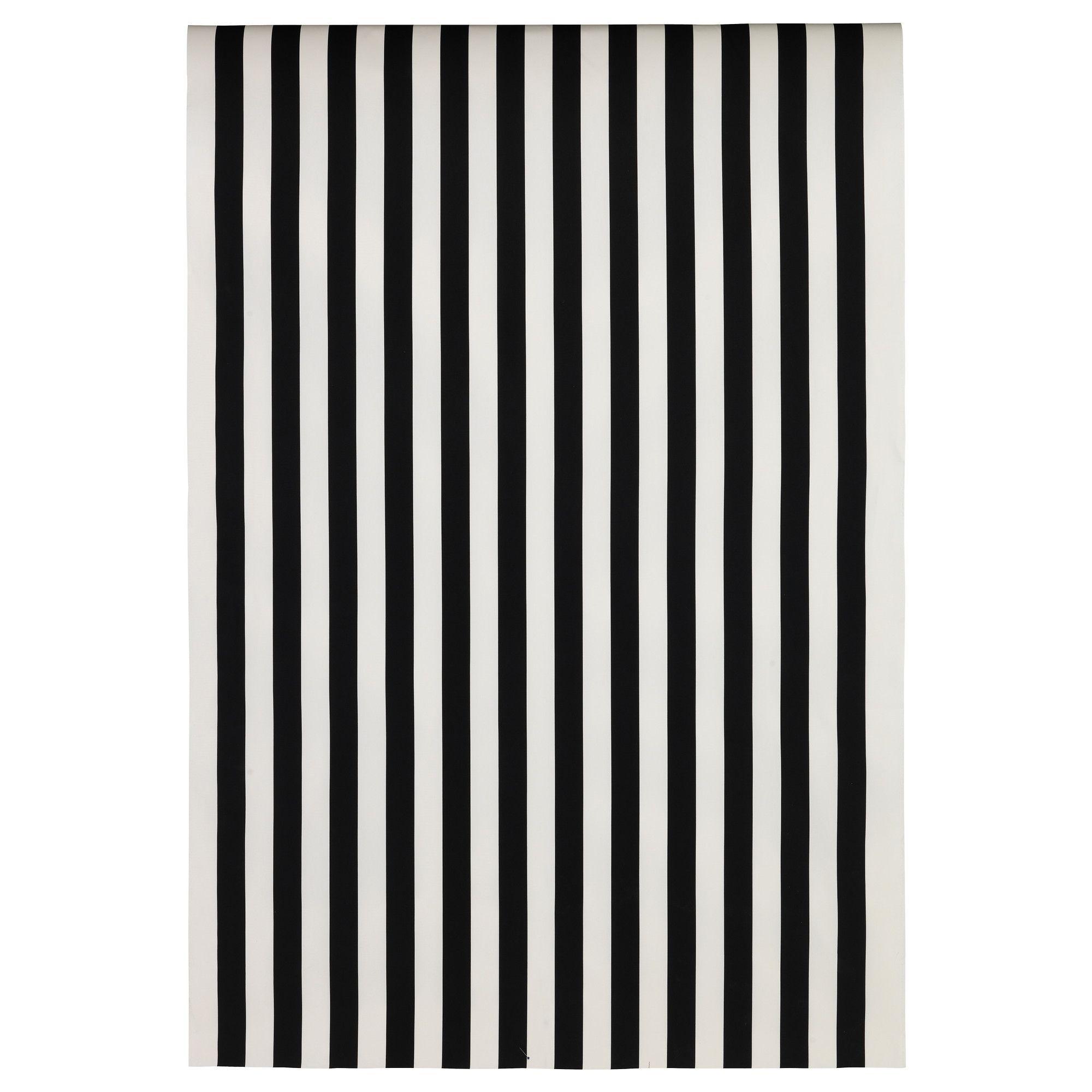 SOFIA Tela por metros, de rayas anchas, negro/blanco | Pinterest