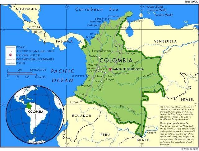 Colombia has a huge variety of climate and ecosystems because it colombia has a huge variety of climate and ecosystems because it extends from the caribbean ocean gumiabroncs Images
